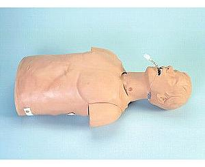 Adult Airway Management Trainer Torso w/ Carry Bag