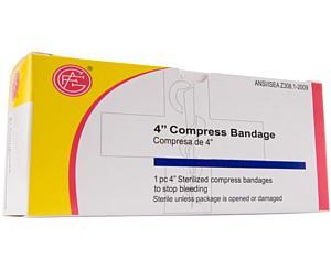 Compress Bandage, Off Center, 4 1 per box