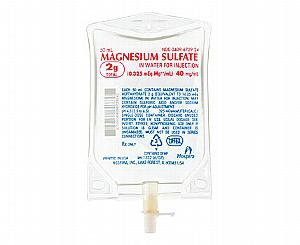 Magnesium Sulfate in Water for Injection, 40 mg per mL, 2g per 50 mL