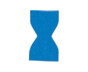 Blue Metal Detectable Bandages, Woven, Fingertip, Box/50