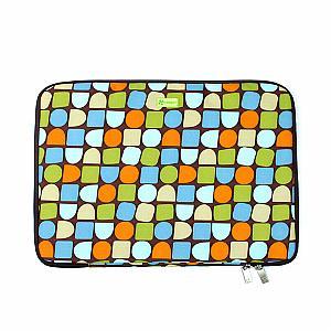 "Laptop Sleeve 15.4"" PC - Deco - Blocks"