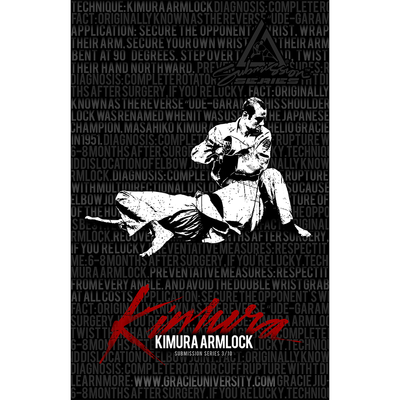 "Kimura: Submission Series 3/10 Poster (11x17"")"