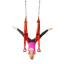 Orange Yoga Trapeze and Ceiling Hooks Bundle
