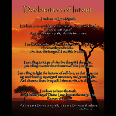 Art: Declaration of Intent - Savanna Edition