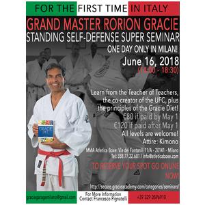 Standing Self-Defense Super Seminar (June 16, 2018)