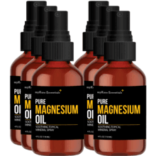 Pure Magnesium Oil- 6 Bottles (4 fl oz)