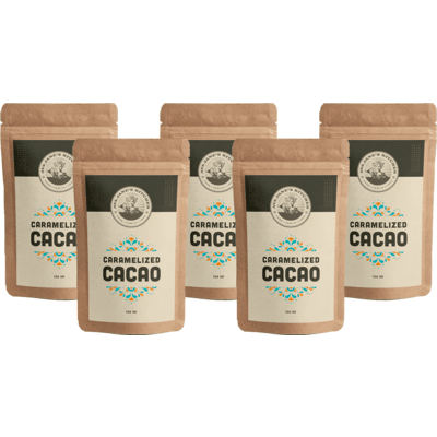 Caramelized Cacao Beans 5 Pack